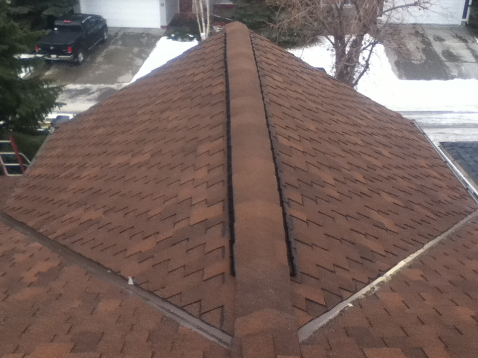 Grand Sequoia shingle incl. vented ridge