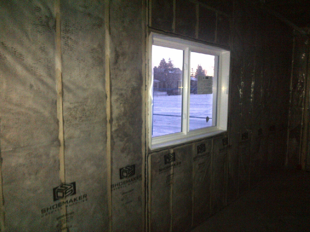 batts walls fiberglass insulation