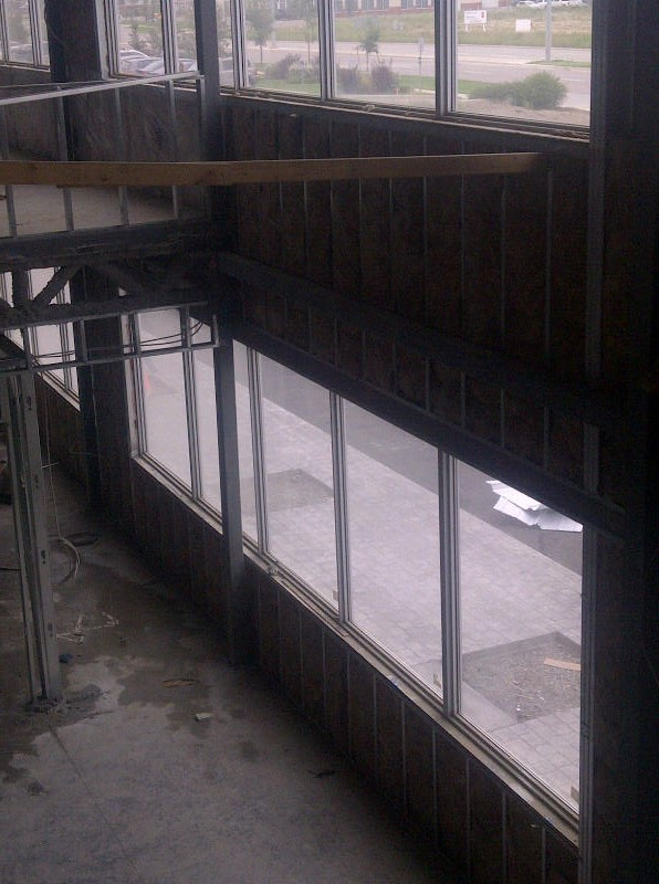 commercial project - fiberglass batts