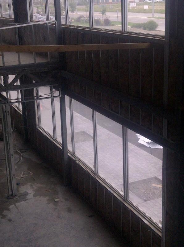 commercial project - fiberglass batts