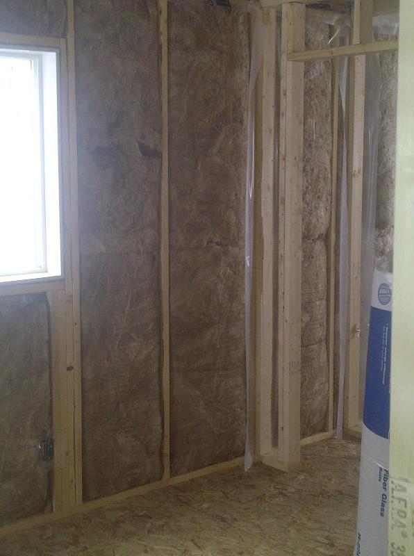 johns manville fiberglass batts in walls