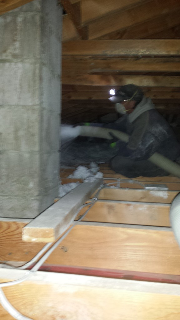 Attic insulation companies calgary edmonton ideal for Loose fill fiberglass insulation