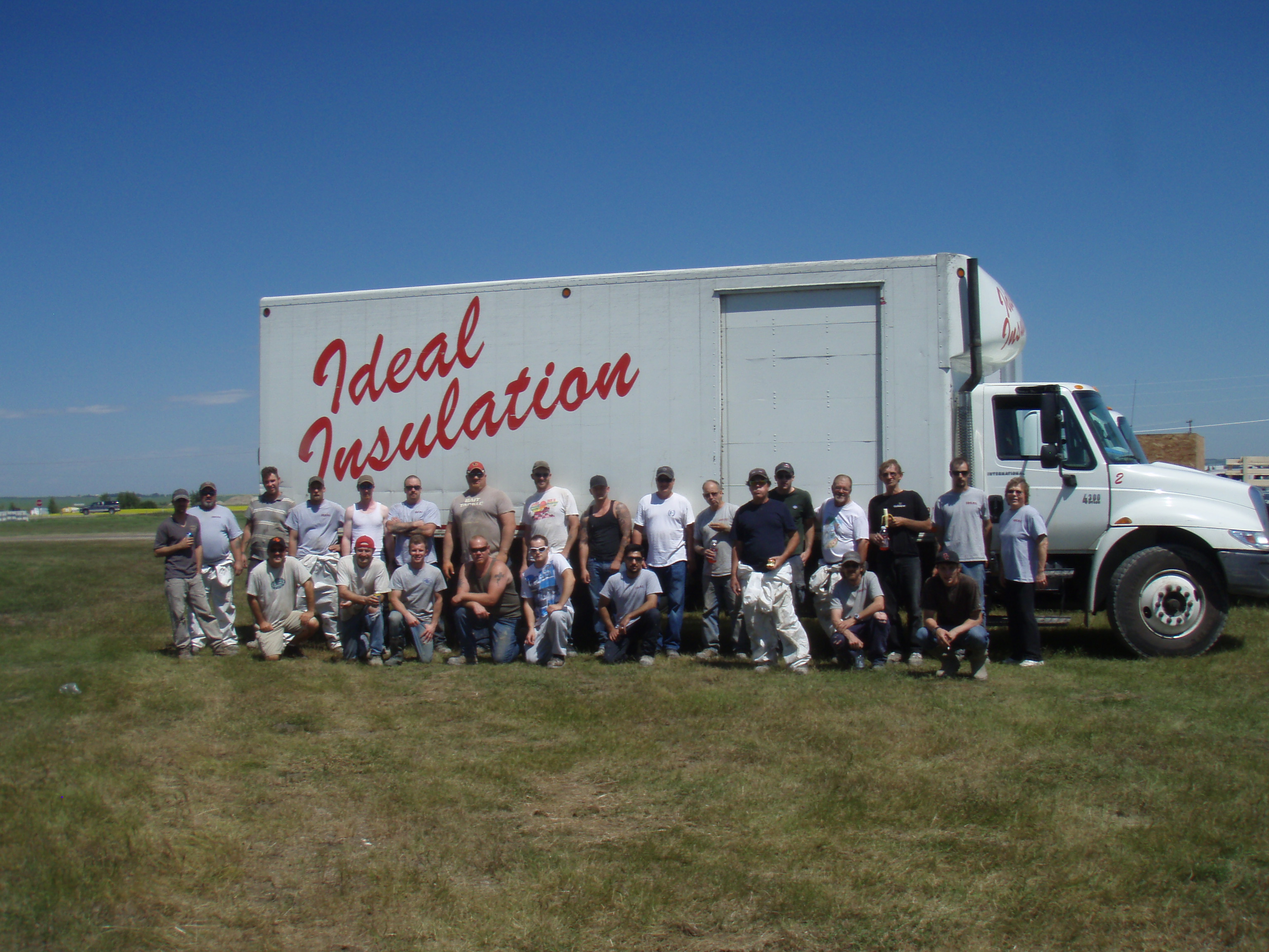 high river flood team photo