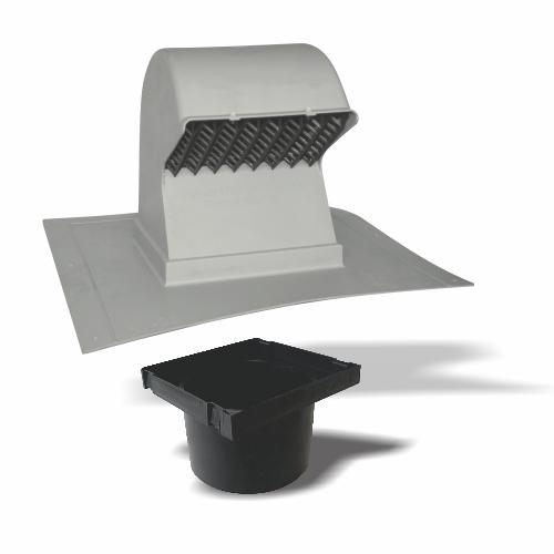Bathroom vent pipe size