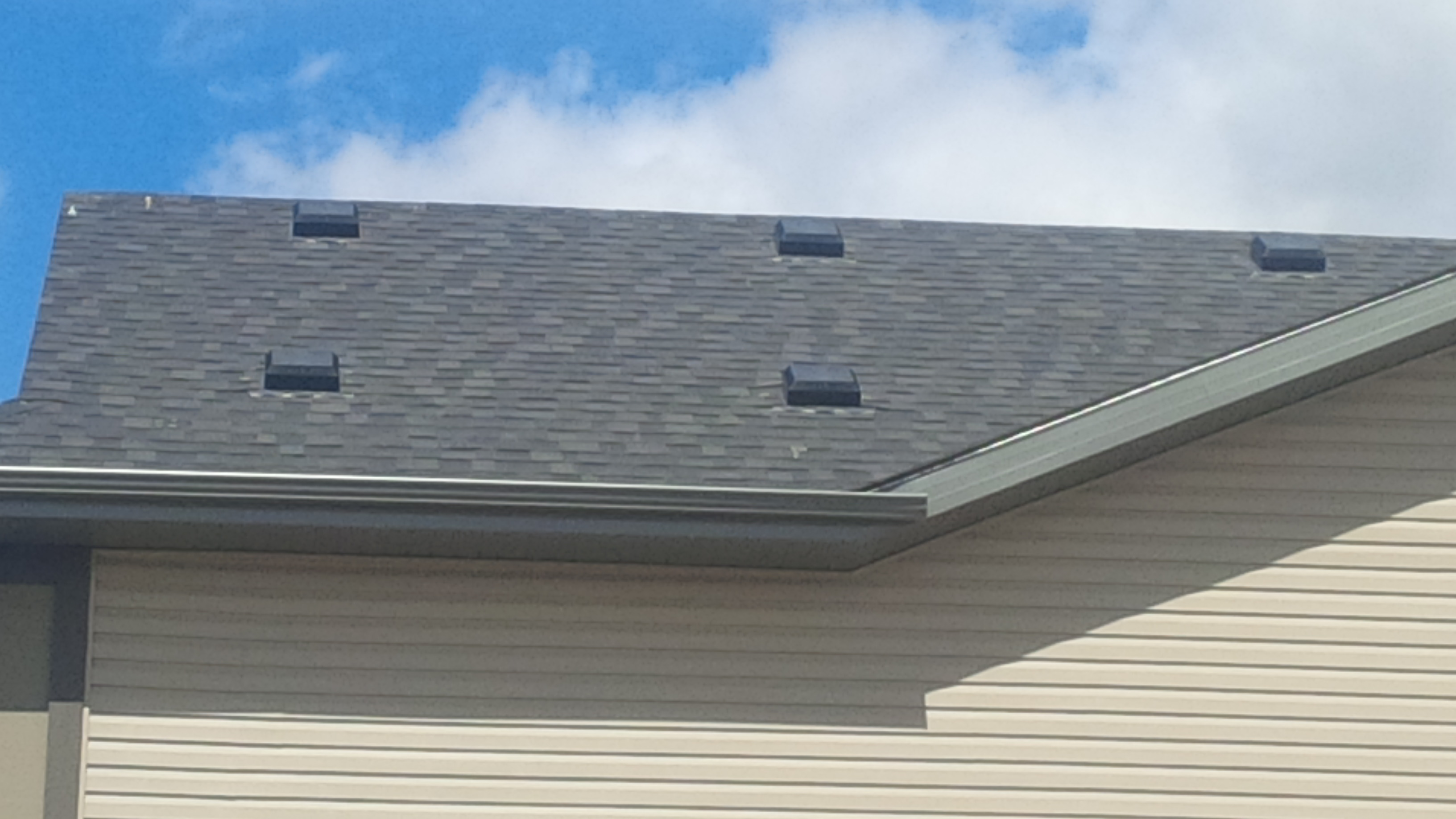 lower roof intake vents allow for Attic intake ventilation through the lower parts of the roof