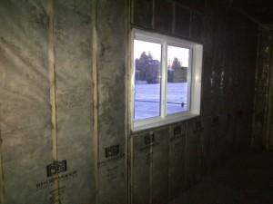 batts walls fiberglass insulation