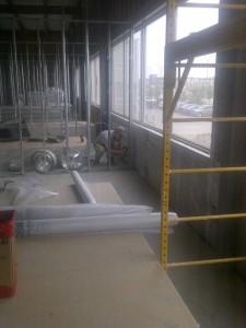commercial project - fiberglass batts (2)