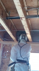 spray foam 2 pound closed cell joist ends