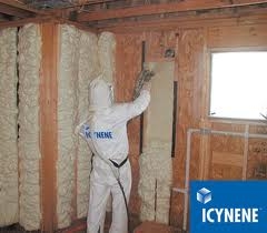 spray foam install