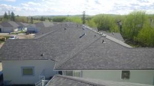 re-roof with malarkey legacy shingles