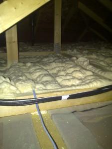 1/2lb spray foam attic