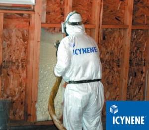 icynene installer spray foam