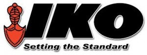 iko roofing logo