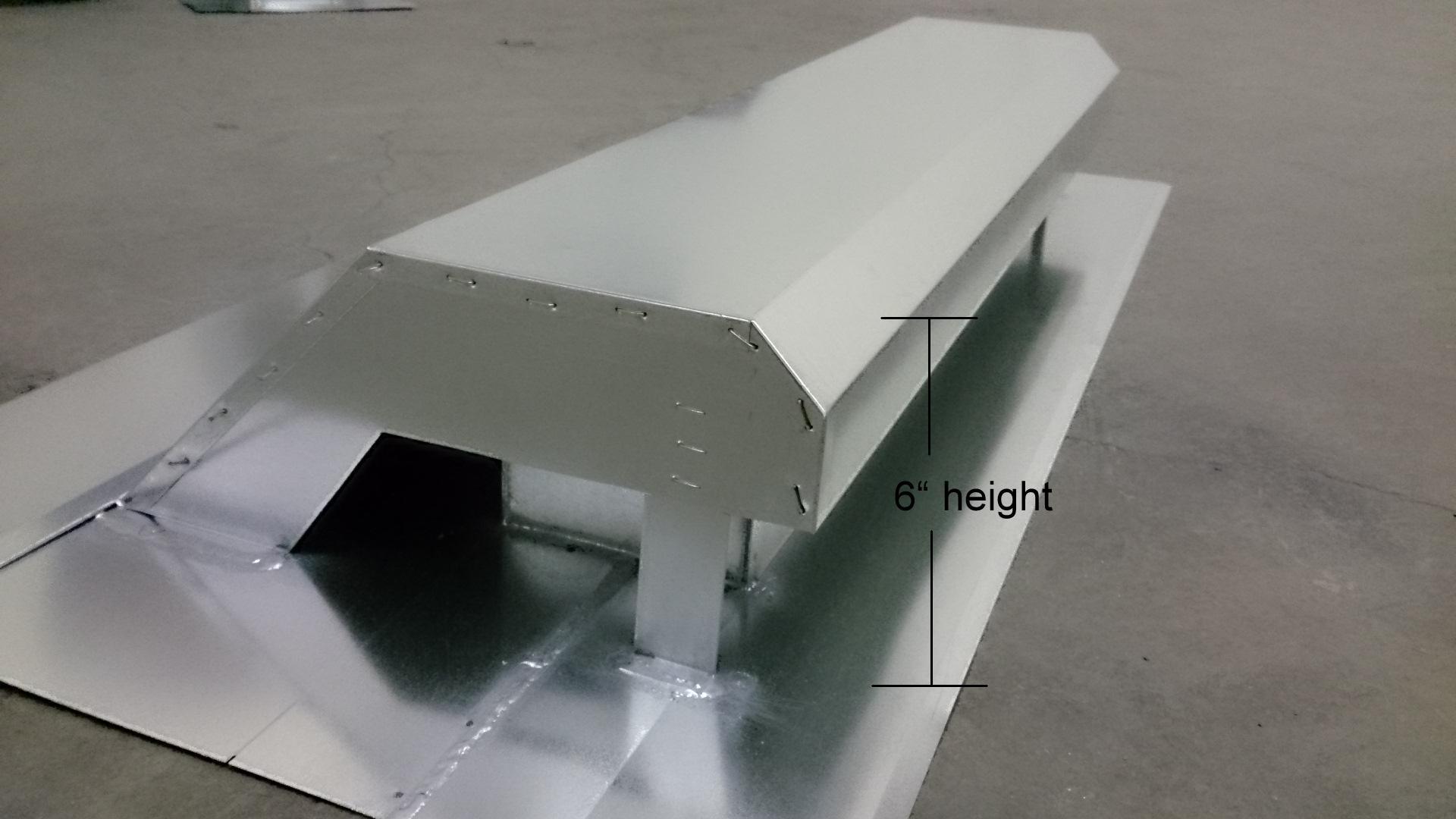phoenix vent - roof exhaust - color milled