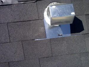 proper gooseneck vent install